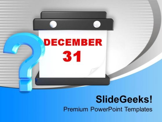 Year End Planning PowerPoint Templates Ppt Backgrounds For Slides 0113