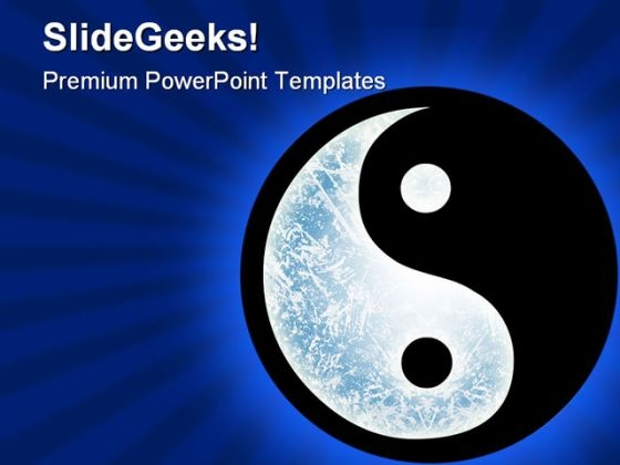 Yin Yang Medical PowerPoint Themes And PowerPoint Slides 0511