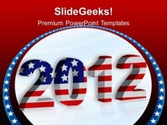 2012 New Year Americana PowerPoint Templates And PowerPoint Themes 0512