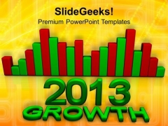 2013 Business Growth Finance Success PowerPoint Templates And PowerPoint Themes 1112