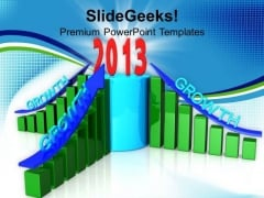 2013 Business Growth Year Finance PowerPoint Templates Ppt Backgrounds For Slides 1212