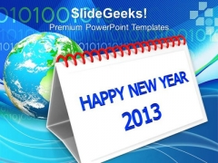 2013 Calendar Holidays PowerPoint Templates Ppt Backgrounds For Slides 1212