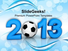 2013 Football Championship Game PowerPoint Templates And PowerPoint Themes 1112