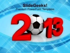 2013 Football Championship PowerPoint Templates Ppt Backgrounds For Slides 1212