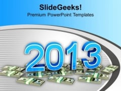 2013 Growth Of Profits In Business PowerPoint Templates Ppt Backgrounds For Slides 1112
