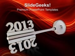 2013 New Year Concept Business PowerPoint Templates And PowerPoint Themes 1112