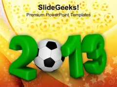 2013 New Year Sports Game PowerPoint Templates And PowerPoint Themes 1112