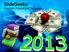 2013 Rising Cost Of Education Future PowerPoint Templates And PowerPoint Themes 1112