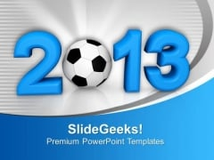 2013 Soccer Championship PowerPoint Templates Ppt Backgrounds For Slides 1112