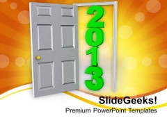 2013 Successful Year For Business Development PowerPoint Templates Ppt Backgrounds For Slides 0713