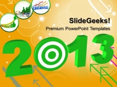 2013 With Target Business PowerPoint Templates And PowerPoint Themes 0712
