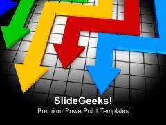 3d Arrows Business Progress Marketing PowerPoint Templates Ppt Backgrounds For Slides 0313