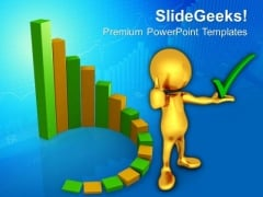 3d Design Of Green Circular Progress Bars PowerPoint Templates And PowerPoint Themes 0912