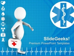 3d Doctor Medical Theme PowerPoint Templates Ppt Backgrounds For Slides 0413