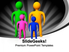 3d Family Holidays PowerPoint Templates And PowerPoint Themes 1012