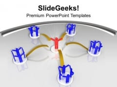 3d Illustration Of Business Pyramid PowerPoint Templates Ppt Backgrounds For Slides 1212