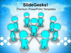 3d Illustration Of Doctors Meeting PowerPoint Templates Ppt Backgrounds For Slides 0813