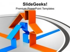 3d Illustration Of House Abstract PowerPoint Templates Ppt Backgrounds For Slides 0113