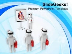 3d Illustration Of Medical Students PowerPoint Templates Ppt Backgrounds For Slides 0813
