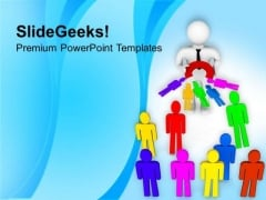 3d Illustration Of Social Engineering PowerPoint Templates Ppt Backgrounds For Slides 0713