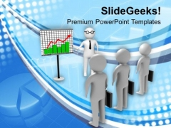 3d Man Business Meeting PowerPoint Templates Ppt Backgrounds For Slides 0513