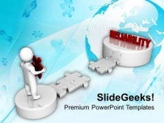 3d Man Way To Realiability Business PowerPoint Templates Ppt Backgrounds For Slides 0213