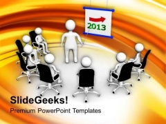 3d Men Discussing Meeting Growth Business PowerPoint Templates Ppt Backgrounds For Slides 1212