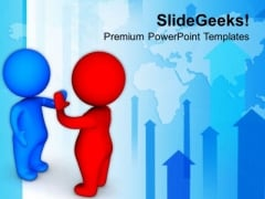 3d Men Give Me Five Illustration PowerPoint Templates Ppt Backgrounds For Slides 0713