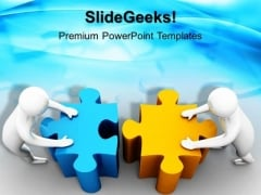 3d Men Team Effort PowerPoint Templates And PowerPoint Themes 1012