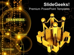 3d Men With Unity PowerPoint Templates And PowerPoint Themes 1012