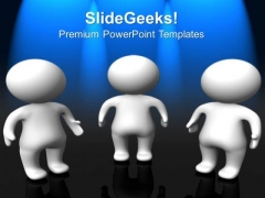 3d Person Business Teamwork PowerPoint Templates And PowerPoint Themes 0712