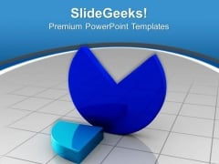 3d Pie Chart Business PowerPoint Templates And PowerPoint Themes 0912