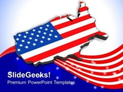 4 July Is A Great Day For American PowerPoint Templates Ppt Backgrounds For Slides 0713