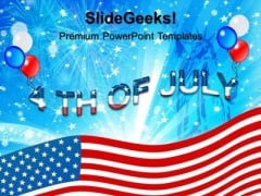 4th July Usa Independence Day PowerPoint Templates And PowerPoint Themes 0612