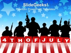 4th Of July Americana PowerPoint Templates And PowerPoint Themes 1012