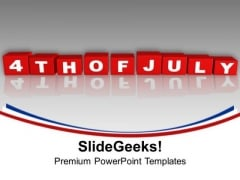 4th Of July Independence Day Americana PowerPoint Templates Ppt Backgrounds For Slides 1112