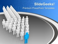 A Good Leader Is Required For Business Team PowerPoint Templates Ppt Backgrounds For Slides 0713