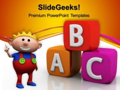 Abc Blocks02 Education PowerPoint Templates And PowerPoint Themes 0512