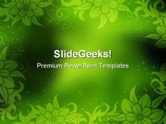 Abstract Green Background Design PowerPoint Templates And PowerPoint Backgrounds 0511