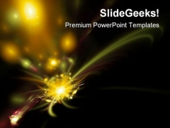 Abstract Space Background PowerPoint Themes And PowerPoint Slides 0411