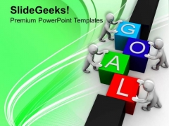 Achieve Goal With Team Work PowerPoint Templates Ppt Backgrounds For Slides 0413