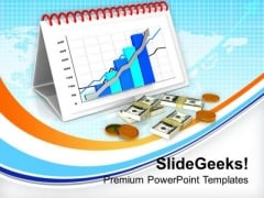 Achieve Monthly Business Target PowerPoint Templates Ppt Backgrounds For Slides 0613