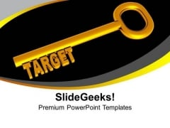 Achieve Targets In Business PowerPoint Templates Ppt Backgrounds For Slides 0413
