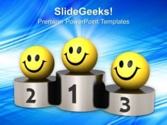 Achieve Your Place And Be Happy PowerPoint Templates Ppt Backgrounds For Slides 0413