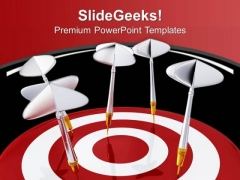 Achieve Your Target And Do Not Miss It PowerPoint Templates Ppt Backgrounds For Slides 0413