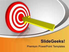 Achieve Your Target Business PowerPoint Templates Ppt Backgrounds For Slides 0413