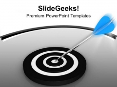 Achieved Business Target Success PowerPoint Templates Ppt Backgrounds For Slides 0513