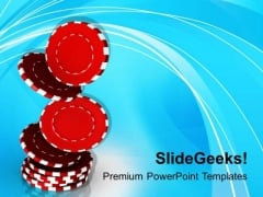 Addiction To Gambling PowerPoint Templates Ppt Backgrounds For Slides 0513