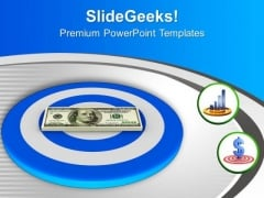 Aiming To Achieve Financial Target PowerPoint Templates Ppt Backgrounds For Slides 0513