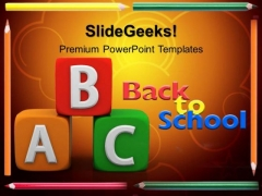 Alphabets Abc Blocks Education PowerPoint Templates And PowerPoint Themes 0512